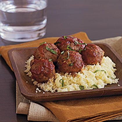Meatballs with Chutney Sauce