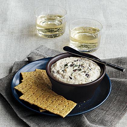 Roasted Garlic-White Bean Dip