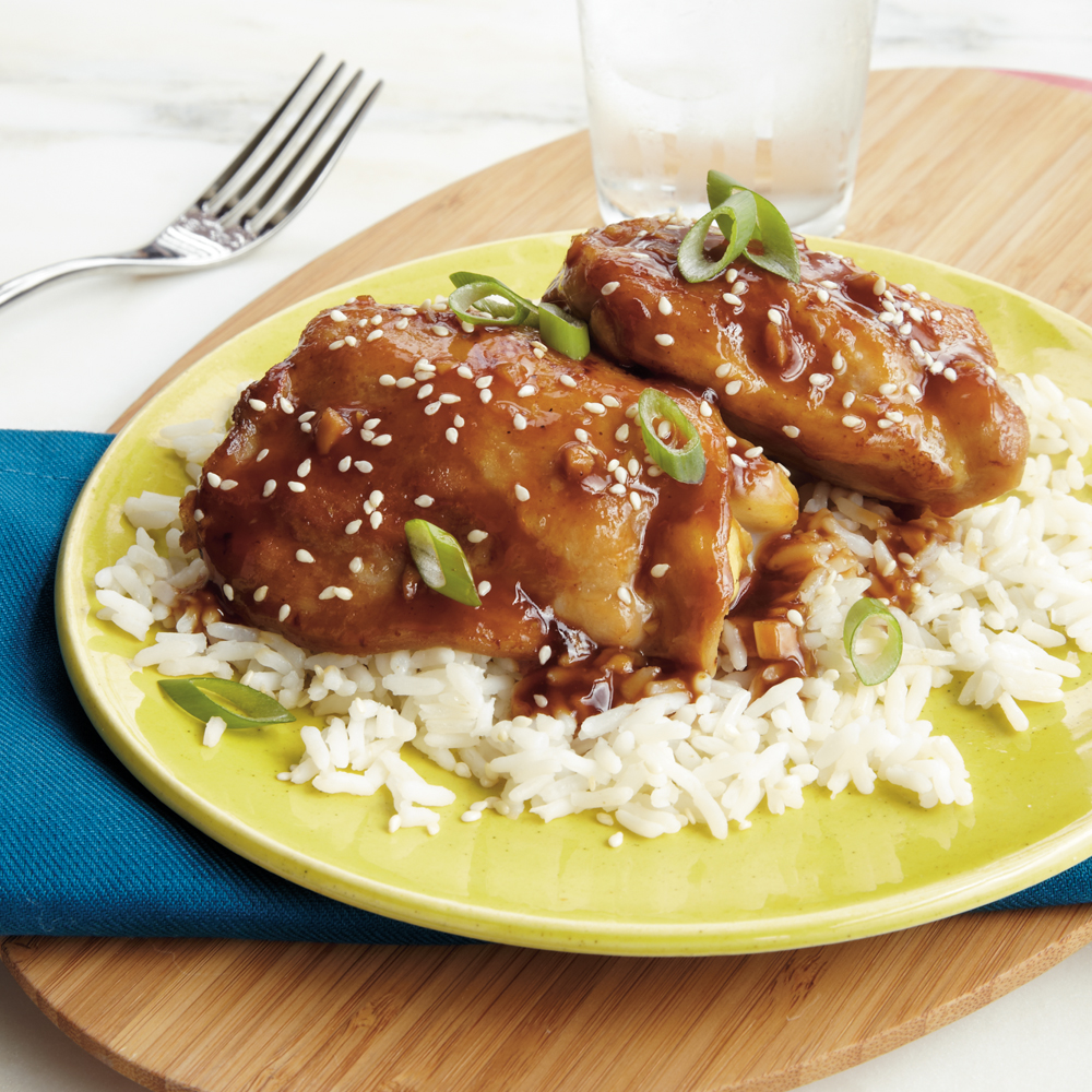 Sesame-Ginger Chicken