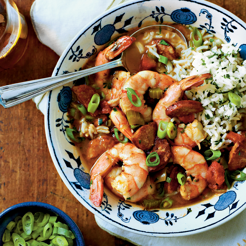 Shrimp-and-Sausage Gumbo