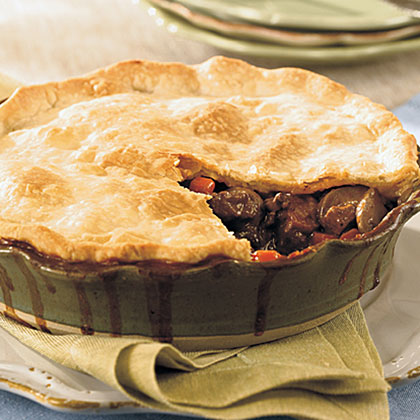 Hunter's-Style Beef Pie