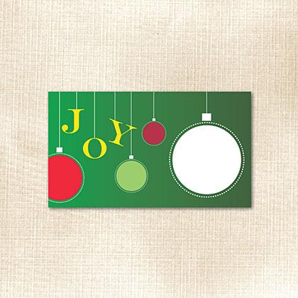 Ornament Joy Place Card