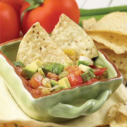 Chunky Tomato-Avocado Salad