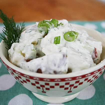 Dilly Blue Cheese Potato Salad