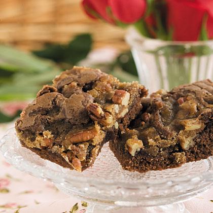 Divine Praline Brownies