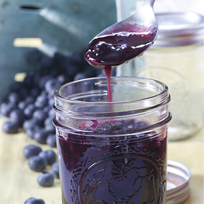 Luscious Blueberry Syrup