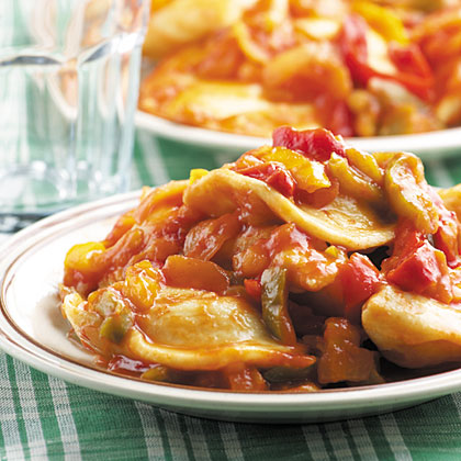 Peppers & Pierogies