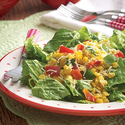 Skillet-Toasted Corn Salad
