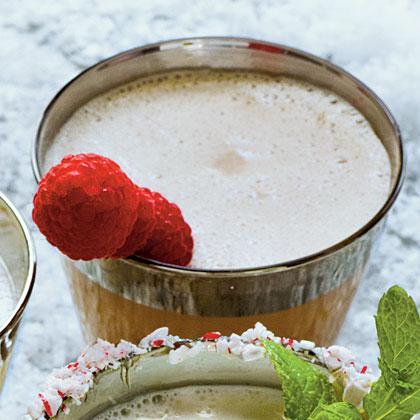 Chocolate-Raspberry Milk Punch