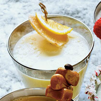Ginger-Vanilla Milk Punch
