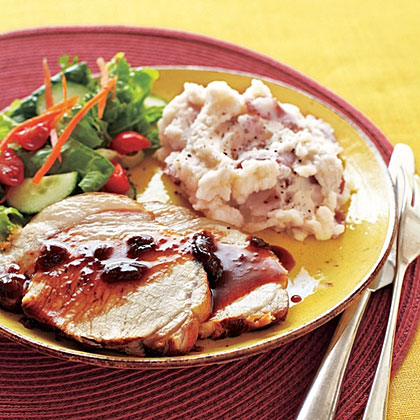 Pork Loin with Cherries