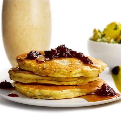 PB&B Pancakes