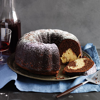 Reverse Marble Bundt Cake