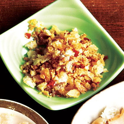 Spicy Anchovy Breadcrumbs