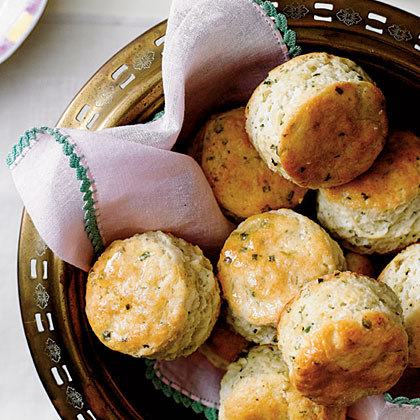 Cornmeal-Chive Biscuits