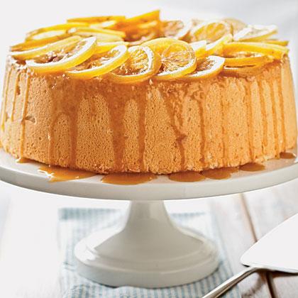 Lemon-Coconut Angel Food Cake