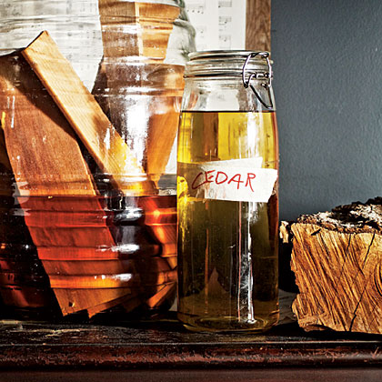 Cedar-Infused Tequila