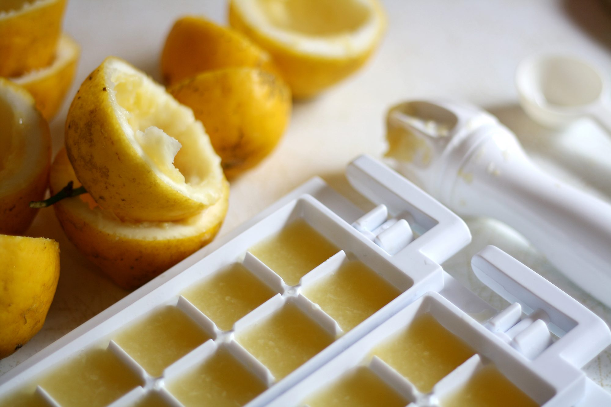 Frozen Lemon Juice Getty 4/10/20