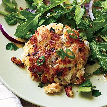 Lemon-Tarragon Crab Cakes