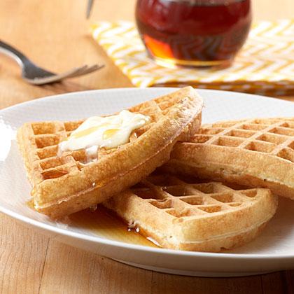 Club Soda Waffles