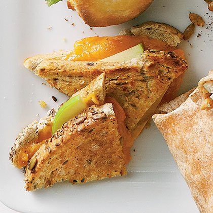 Grilled Cheese & Apple Sandwiches