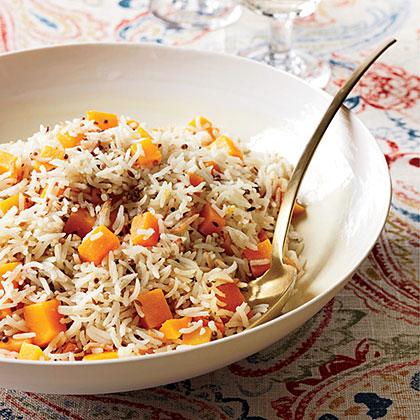 Butternut Squash Basmati Rice