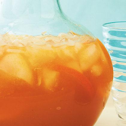 Tangerine Spiced Tea Punch