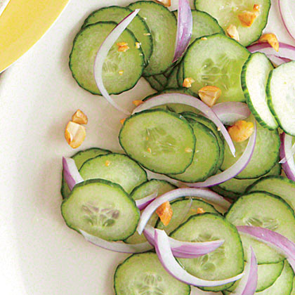 Cucumber-Peanut Salad