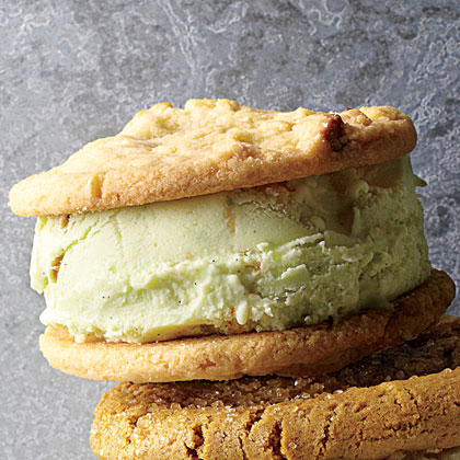 Avocado-Key Lime Pie Ice Cream