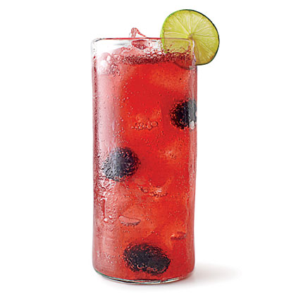 Blackberry-Lime Agua Fresca