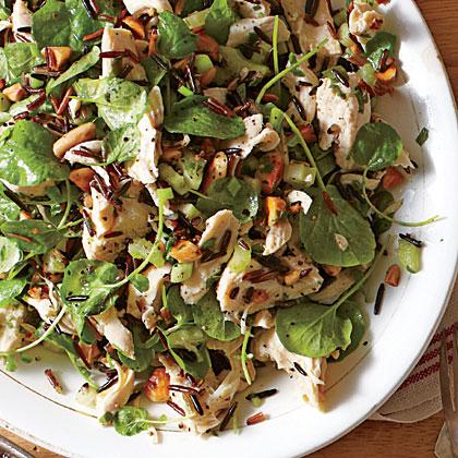 Chicken Salad with Wild Rice