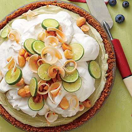 Key Lime Ice-Cream Pie