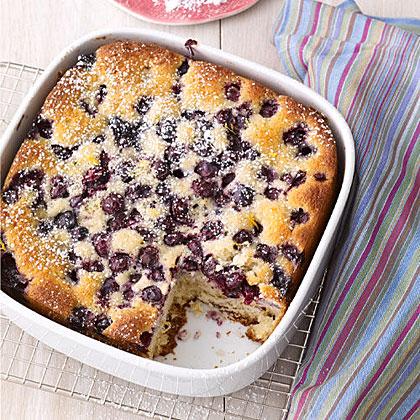 Lemon-Blueberry Snack Cake