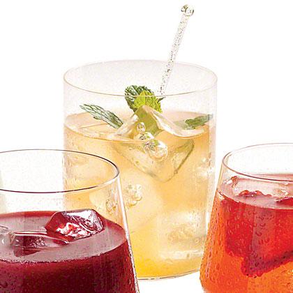 Peachy Bourbon Lemonade