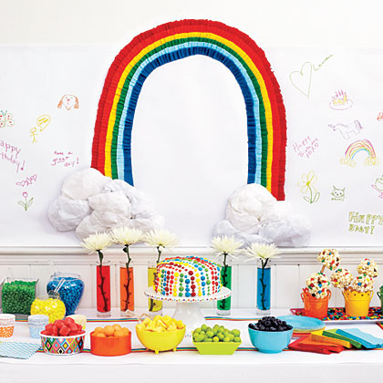 2. Set a Colorful Table of Treats