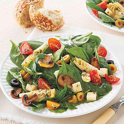 Artichoke and Mushroom Salad