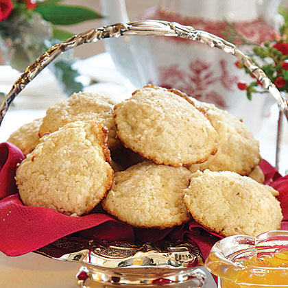 Browned Butter Scones with Faux Clotted Cream