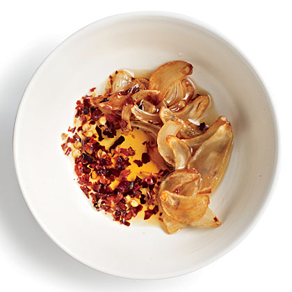 Garlic and Red Pepper Broccoli