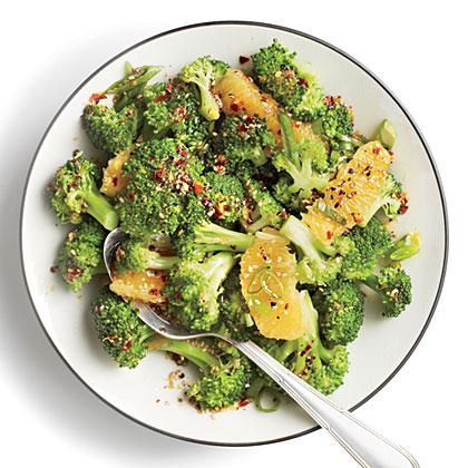Orange-Sesame Broccoli