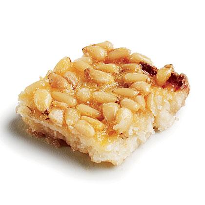 Salty-Sweet Pine Nut Bars
