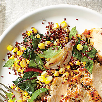 Fresh Corn Quinoa