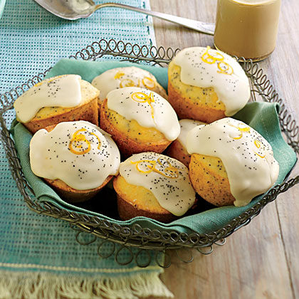 Poppy Seed-Ginger Muffins