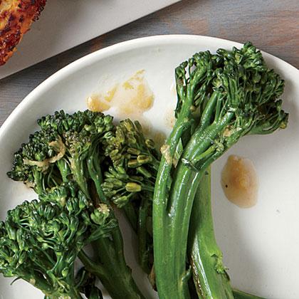 Sautéed Lemony Broccolini