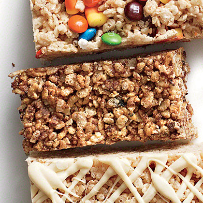 S'mores Chewy Crispy Bars