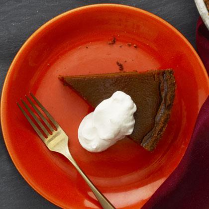 Squash and Molasses Pie