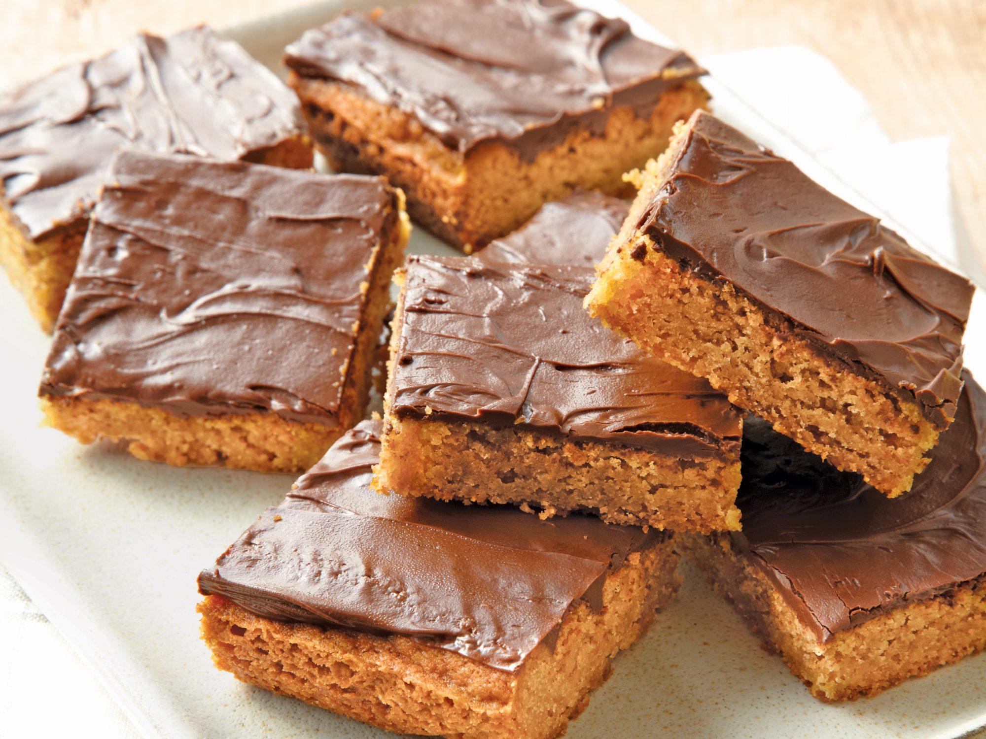 Chocolate-Peanut Butter Bars