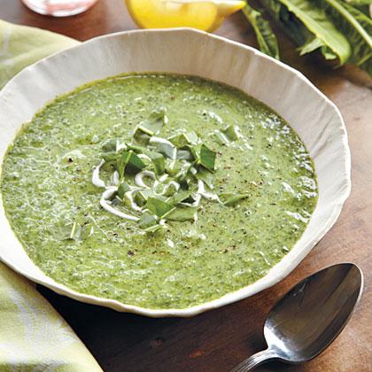 Creamy Dandelion Soup