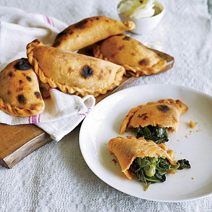 Spinach-and-Green-Pea Empanadas