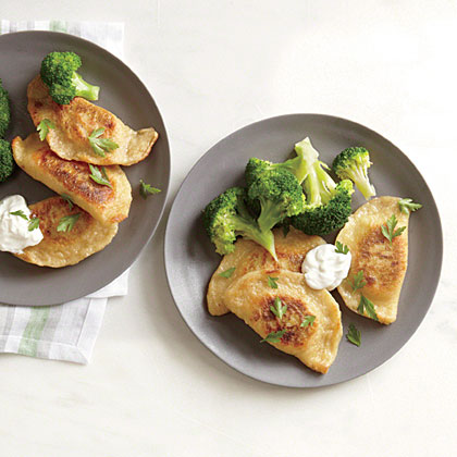 Cheddar and Potato Pierogies