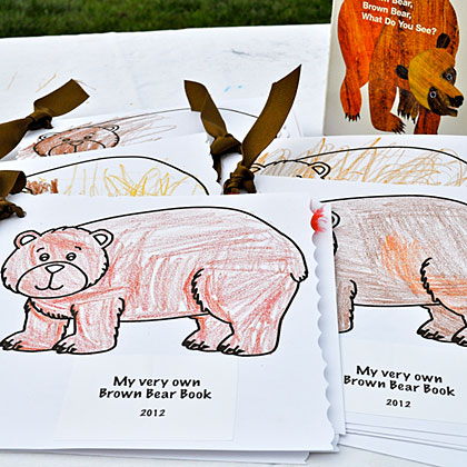 Brown Bear Coloring Books